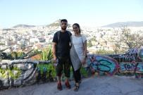 halal, athens, muslim couple, honeymoon, europe, greece, ancient greece, greek flag