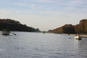 The pond at the garden of Versallies