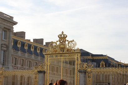 Versailles' golden gates