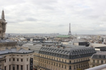View of the city from Galleries Lafayette