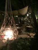 Pretty decor at Restaurare, Tulum