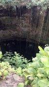 Sinkhole swimming a the Ik-Kil Cenotes