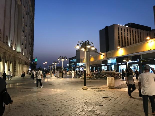 Jeddah at night_Al Balad